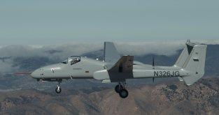 NorGrum Firebird manned inflight rcvd Jul19